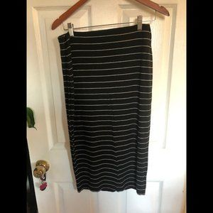 Old Navy striped knit pencil skirt S